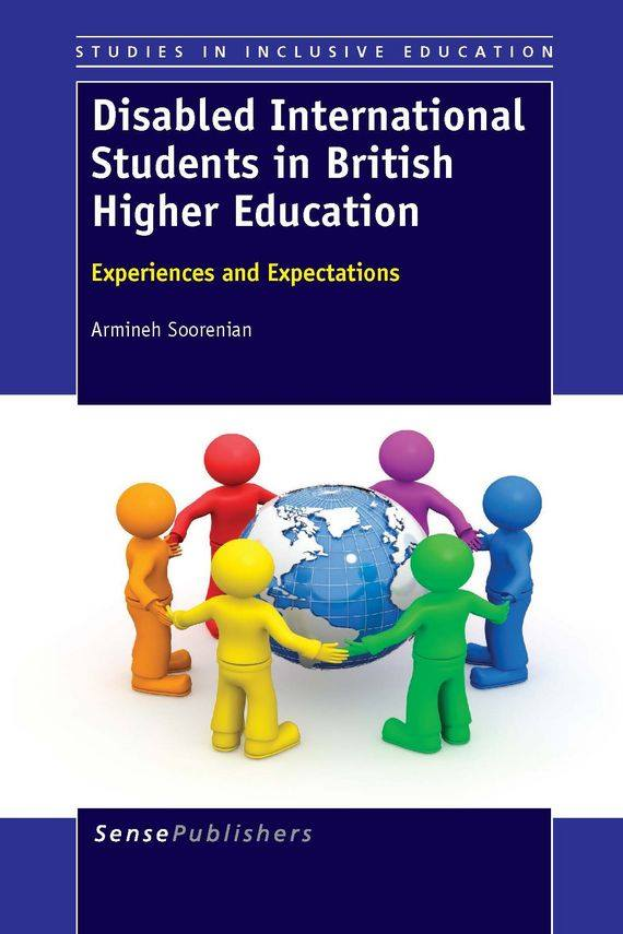 Disabled International Students in British Higher Education front cover