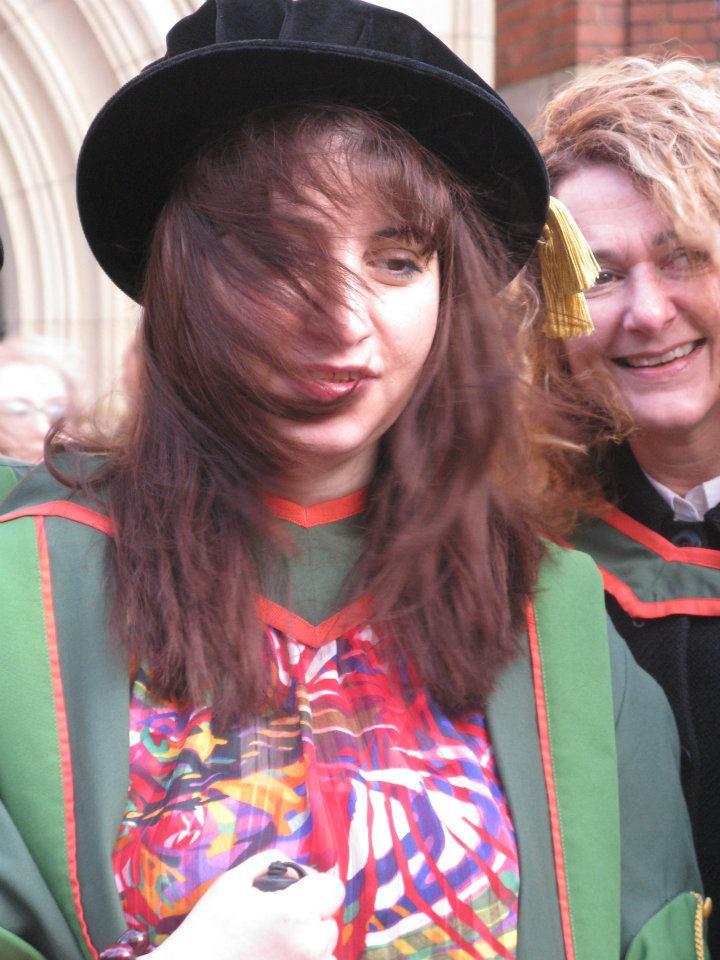 Armineh PhD graduation