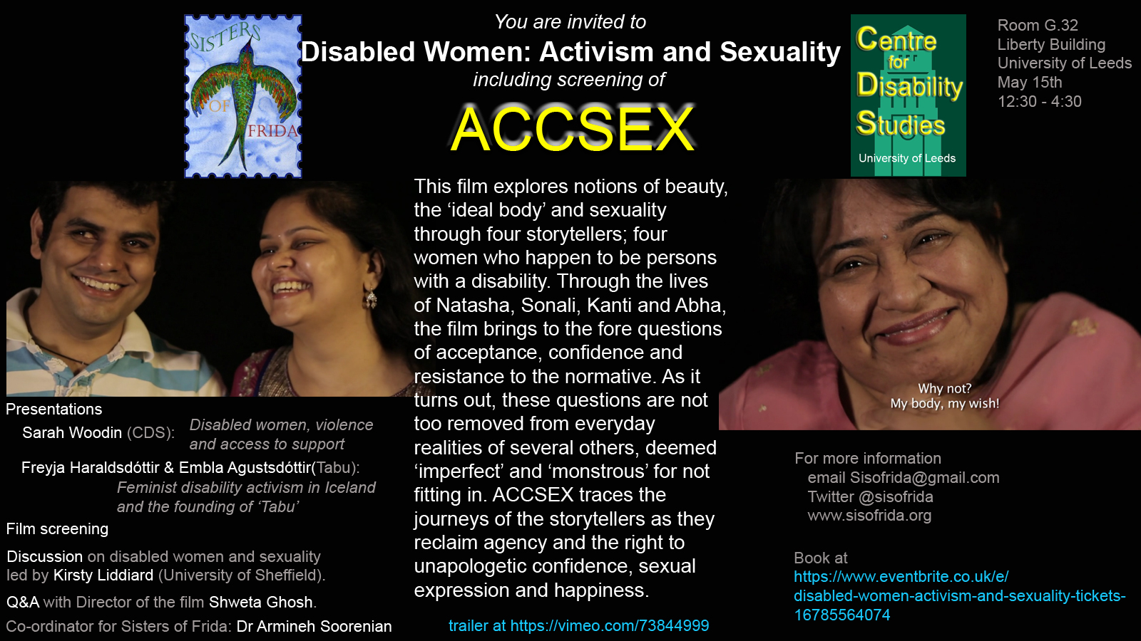 Accsex Event Poster